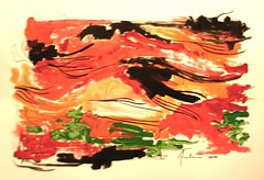 Red Sea (tela abstrata)