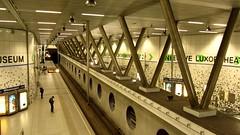 Metro Station Wilhelminaplein (VicunaR) Tags: nederland netherlands niederlande rotterdam metro ubahn station bahnhof wilhelminaplein ret