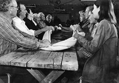 Cape Breton Gaelic Singers – A Traditional Cape Breton Gaelic Evening – 10/16/97 (photo: Grant Young)