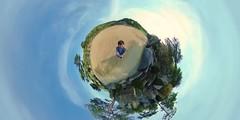 Ambition Masterpiece Little Planet Tour (en.wolmyeongdong) Tags: wolmyeongdong 360 little planet rocks outdoor landscape tree tour