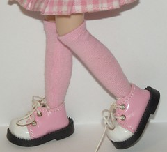 Tall Bubble Gum Pink Socks For Blythe...