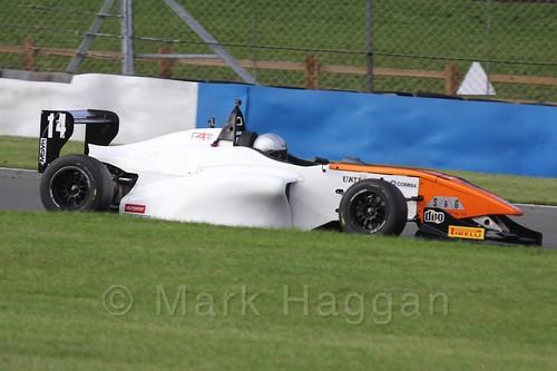 BRDC F4 Race 3 at Donington Park, September 2015