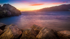 Sunset in Salobrea (ivanhurba) Tags: sunset summer espaa beach spain long exposure playa andalucia granada verano andalusia salobrea