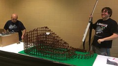 LEGO Rollercoaster Takedown - Brickworld 2014