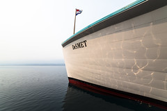 DeSmet Profile (GlacierNPS) Tags: boat lakemcdonald lake desmet glaciernationalpark montana nationalparks nps