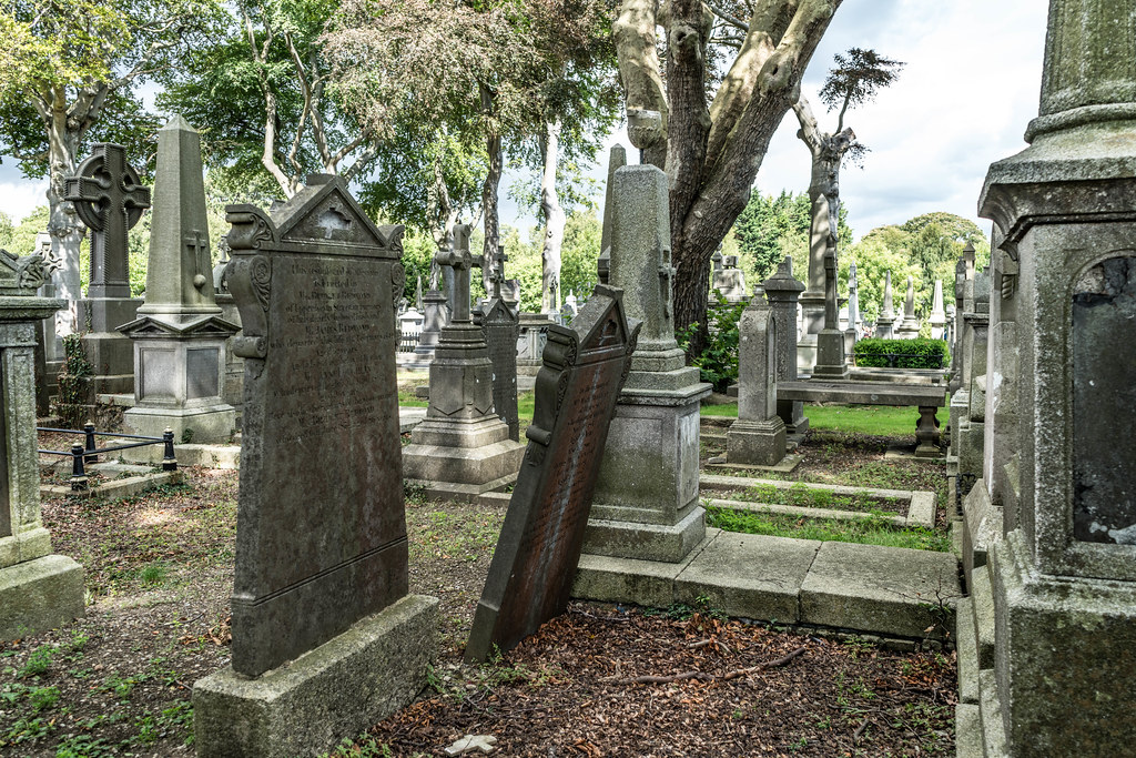 GLASNEVIN CEMETERY [MY FIRST DAY USING THE NEW SONY A7RMkII] REF-107400