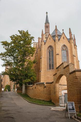 La chapelle protestante du château de Hohenzollern