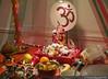 Ganapati Festival at Saginaw (swaps1987) Tags: usa statue festival festive nikon unitedstates god michigan decoration 50mm14 celebration ganesh northamerica pooja deity ganapati saginaw moraya nikonphotography nikond750