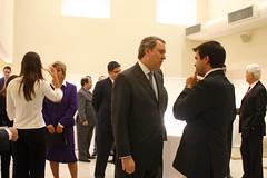 Edgard Hermelino Leite Junior recebe os convidados