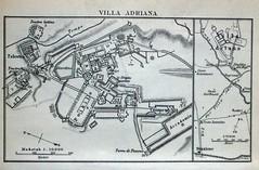 Villa Adriana pianta