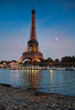 Paris Dusk (Nomadic Vision Photography) Tags: paris france dusk eiffeltower iconic touristattraction jonreid riversein tinareid nomadicvisioncom