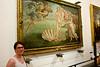 Kristín & Botticelli's Birth of Venus (olikristinn) Tags: italy art museum painting florence gallery july tuscany firenze uffizi toscana botticelli birthofvenus uffizigallery kristín galleriadegliuffizi ítalia uffizigallerymuseum july2015 17072015 flórens2015
