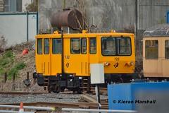 722 at Heuston Yard, 10/10/15 (hurricanemk1c) Tags: dublin irish train rail railway trains railways irishrail heuston 2015 722 iarnród éireann iarnródéireann trackinspectioncar