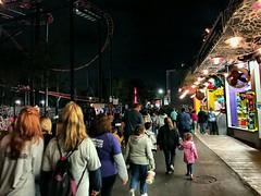 The Stream (photo.po) Tags: carnival people night children lights availablelight dfw sixflags nightphoto crowds amusementparks carnivalgames arlingtontx fwtx sixflagsamusementparks
