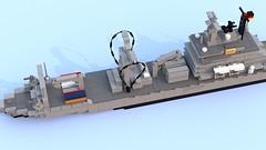 Einsatzgruppenversorger Klasse 702 (Locutus666) Tags: berlin lego class type klasse 702 einsatzgruppenversorger