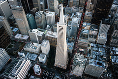 Aerial shot of Transamerica Pyriamid (Jan Senderek) Tags: sanfrancisco above abstract building vertical skyline architecture high nikon pyramid jan sony aerial helicopter transamerica alpha nikkor cfi a7r nikkor2470mm28 verticalcfi a7rii senderek a7r2 moopoints