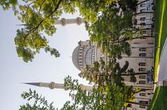 Konya - Haci Veys Zade Mosque From Cultural Park Sultanah Caddesi 4 (Le Monde1) Tags: park turkey nikon islam mosque sultan turkish dervish anatolia moslem whirlingdervishes culturalpark kltr sinanpasha d7000 lemonde1 hasanpasha haciveyszade sultanahcaddesi fatmahtun