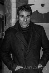 Actor Rufus Sewell at the Donmar theatre in London.