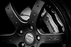 Brembo (technodean2000) Tags: uk white black back nikon go push brake brembo lightroom d610 calliper