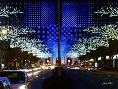 Luces Navideas 2015. Calle Alcal (Madrid) (Juan Alcor) Tags: madrid navidad luces calle alcala nocturno lucesnavideas