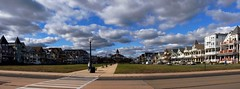 Clouds Pano (markchevy) Tags: ocean sea panorama clouds mall landscape photo newjersey interesting colorful pix graphic victorian nj picture scene atlantic vista pictorial oceangrove oceanpathway epl1 markchevy johnspilatro