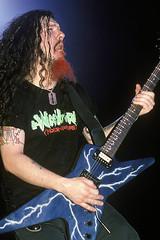 Electric Blue Dimebag (KG5JTI) Tags: dimebag dime abbott darrell 333 cfh legend diamond arlington texas damageplan pantera black tooth grin guitarist