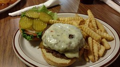 The Southwest Burger (jimmywayne) Tags: holbrook tomandsusies diner navajocounty southwest burger hamburger food ate arizona