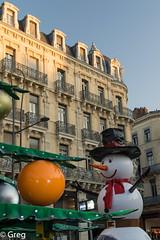 Toulouse, Noël 2016 (Gregouill) Tags: 2016 201612 bonhommedeneige christmas décembre décoration manège noël sapin toulouse weihnacht