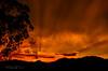 Sunset (Fany Vigato) Tags: sunset sun nikon d5100 brazil santacatarina orange burning fire