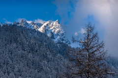 Chamonix-Mont-Blanc, France (Wolfhowl) Tags: france frenchalps landscape winter chamonix alps travel mountains шамоні франція 2016 europe alpinemountains chamonixmontblanc