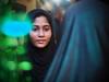 Kolkata - Reflection (sharko333) Tags: travel voyage reise street india indien westbengalen kalkutta kolkata কলকাতা asia asie asien people portrait woman muslim reflection olympus em1