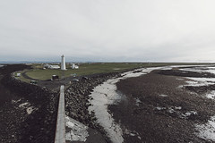 Grindavik Lighthouse View (joshuadavidreid) Tags: lighthouse gridavik iceland ocean