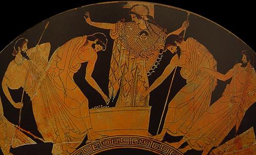 "Petteia - Ludus Latrunculorum  / Iconografía de las civilizaciones helenolatinas • <a style=""font-size:0.8em;"" href=""http://www.flickr.com/photos/30735181@N00/31678497814/"" target=""_blank"">View on Flickr</a>"