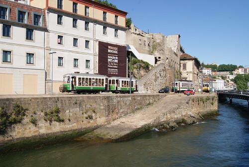 Parade 2011 des Vieux Trams de Porto (Portugal)
