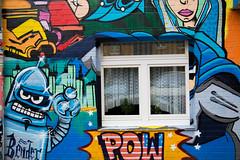 Pow Pow (Rasande Tyskar) Tags: graffity graffiti graffito hamburg stpauli streetart streetview streetshot street art urban urbanart wall mauer kunst strasenkunst urbane germany