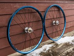 New Custom Wheels (The Wandering Cameraman) Tags: nikon d750 wheels bikes hadley hadleyracingproducts dtswiss spank oozy nikkor vermont madeintheusa handbuilt bikeporn raw naturallight bikemechanic boost xd 3cross