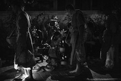 The Alms-Giving Ceremony of Luang Prabang (wilsonchong888) Tags: leica50mmaposummicronmasphf20 leicasl laos luangprabang monk almsgiving ceremony streetphotography black white