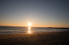 The sun rises over Manasquan Beach and the Atlantic Ocean. (apardavila) Tags: atlanticocean jerseyshore manasquan manasquanbeach beach sand sun sunrise