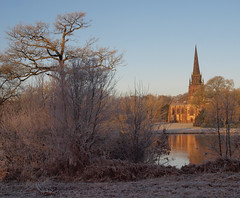 2016_12_0530 (petermit2) Tags: winter frost chapelofstmarythevirgin stmarythevirgin saintmary church chapel clumberpark clumber sherwoodforest sherwood nottinghamshire nationaltrust nt