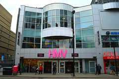 Gone Out Of Business .... HMV / Music Store .... 333 Yonge Street .... Toronto, Ontario (Greg's Southern Ontario (catching Up Slowly)) Tags: retailphotography musicindustry music hmvcanada hmvtoronto hmv hmvclosing outofbusiness torontoist 333yongestreet