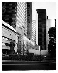 Tokyo (* Daniel *) Tags: polaroid polaroid110a polaroidlandcamera markdaniel markdanielphotocom ilford ilfordid11 id11 fp4 fp4plus ilfordfp4 ilfordfp4plus ilfordfp4plussheetfilm japan tokyo film filmgrain mono monochrome architecture filmdev:recipe=11172 ilfordfp4125 film:brand=ilford film:name=ilfordfp4125 film:iso=80 developer:brand=ilford developer:name=ilfordid11 monochromejapan ysarex ysarex127mm ysarex127mmf47