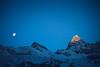 Mountain Day far away... (Patrick X. Lochmatter) Tags: matterhorn winter2016 wind zermatt gabelhorn mountain cloud mountaineering