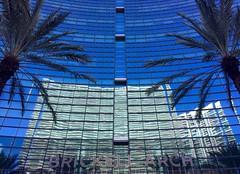 Brickell Arch (David Abresparr) Tags: florida miami brickellarch facade fasad glassfacade glasfasad reflection spegling palmtrees palmer