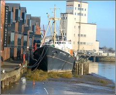 High and Dry .. (** Janets Photos **) Tags: uk hull rivers historicvessels mud silt