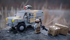 Leopard ITV (♕ Spencer) Tags: lego military brickarms brickforge eclipsegrafx mru