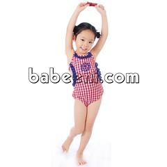 Monogram girl one piece swimwear (babeeniclothing) Tags: swimwear swimsuit bikini girl sexy love nice smocked cool fashion model indoor