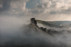an Englishman's castle (stocks photography.) Tags: michaelmarsh corfecastle landscape english castle