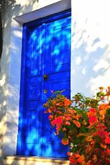 GrEEcE is... (sifis) Tags: greece door blue sakalak nikon d700