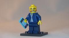 Brick Yourself Custom Lego Figure Colored Beard