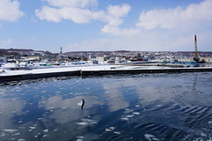 網走の海 01 (tomomega) Tags: 網走 北海道 流氷 海 sea driftice